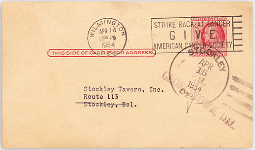 Stockley Tavern History